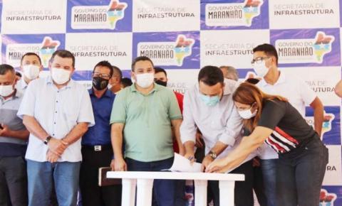Buritirana e Davinópolis são contempladas com novas obras do Governo do Maranhão
