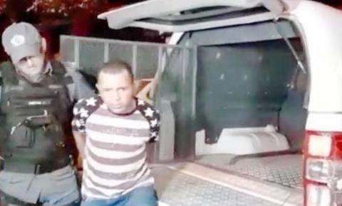 14º BPM prende acusado de matar idoso a tiros no Centro do Toinho