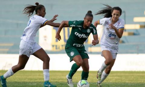 Palmeiras empata com São José no Brasileiro Feminino