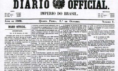 Do prelo ao digital: Diário Oficial chega aos 159 anos