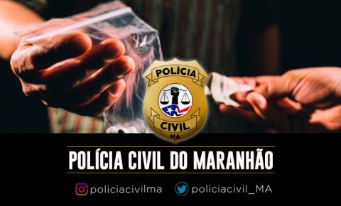 Polícia Civil prende em Açailândia, homem por tráfico de drogas