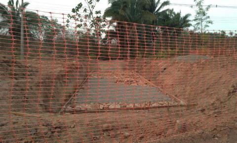 Avenida Jackson Lago recebe obra de drenagem profunda