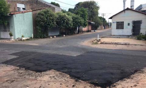 Recuperação da malha asfáltica chega a mais sete bairros de Imperatriz
