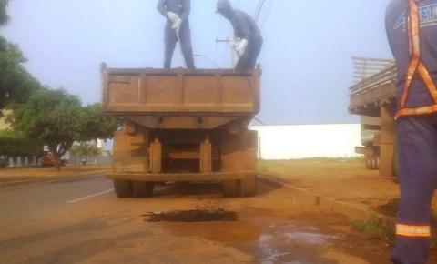Anel Viário de Porto Nacional recebe manutenção do Governo do Tocantins