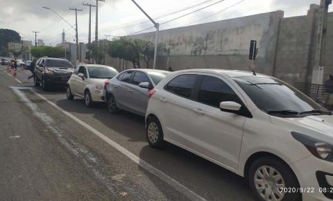 Desrespeito à faixadepedestre causa acidente em Imperatriz