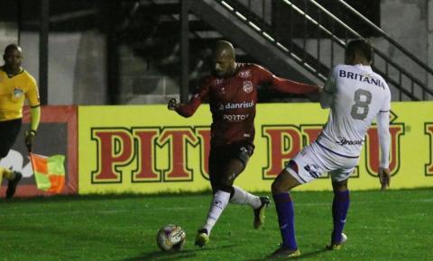 Série B: Paraná cede a empate contra Brasil de Pelotas no fim do jogo
