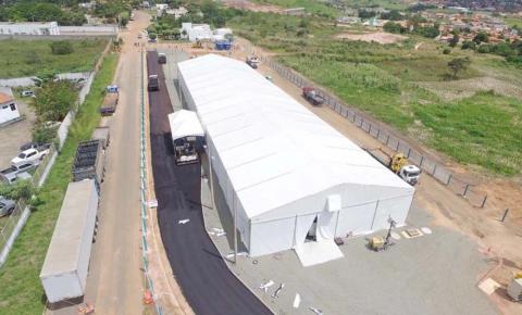 Hospital de Campanha de Açailândia segue  no combate à Covid-19 na Região Tocantina