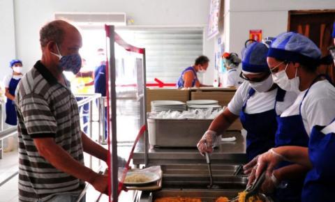 Restaurantes Populares terão mudanças nos atendimentos a partir de 1º de outubro