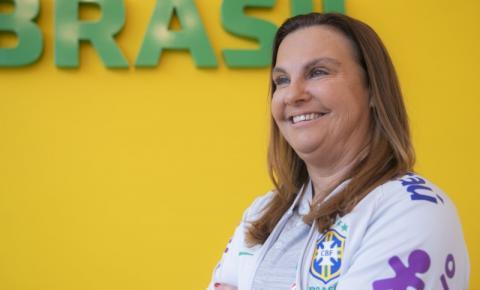 Motivada, Duda Luizelli traça metas para trabalho com as Seleções Femininas