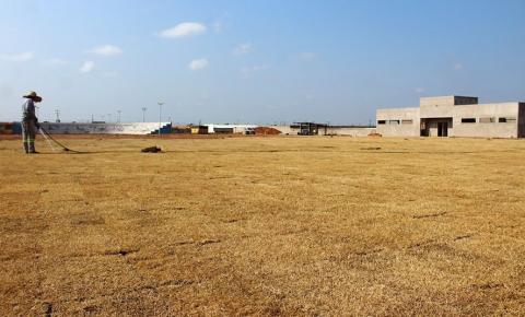 Campo de Futebol do Sebastião Régis está em fase de acabamento