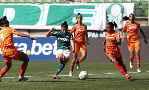 Inter derruba série invicta do Palmeiras pelo Brasileiro Feminino