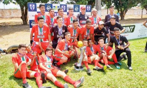 Federação de Futebol 7 realiza campeonato de base em Imperatriz