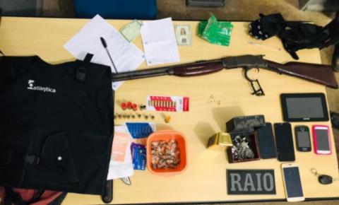 Polícia Civil e Esquadrão Raio do 14° BPM prendem trio suspeito de assalto ao Fórum de Carolina