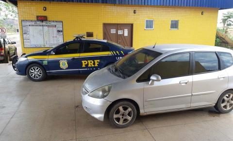 PRF Unidade de Imperatriz recupera carro roubado em Natal