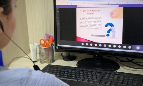 Empresa abraça a campanha Outubro Rosa e promove bate-papo online