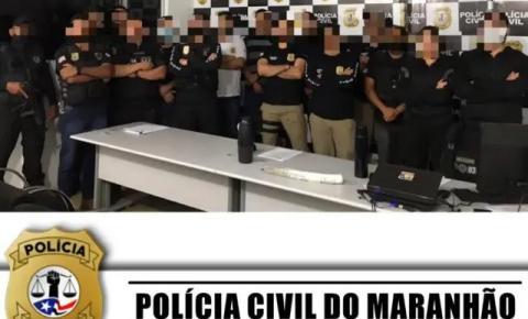 Polícia Civil prende duas pessoas em flagrante e apreende armas em Amarante