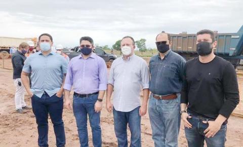 Vice-governador faz lançamento de obra do porto seco