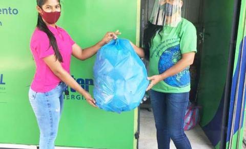Postos de coleta do  E+ Reciclagem retornam  as atividades em Imperatriz