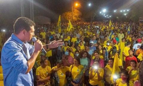 Jaime tem 50,6% de intenção de votos e com apoio do povo de Carolina dispara na reta final da campanha
