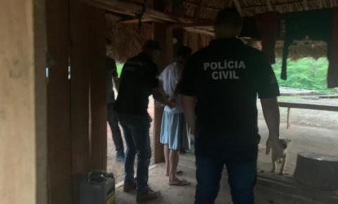 Foragido por homicídio no Maranhão é preso no Tocantins