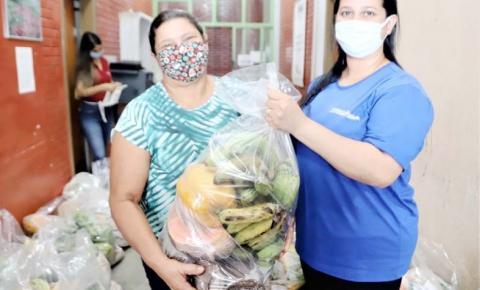 Entrega de cestas básicas para famílias devido à pandemia é retomada em Araguaína