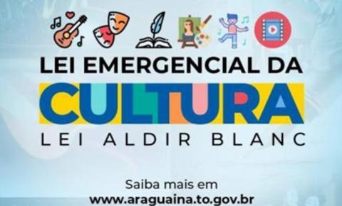 Live explica a empresários e artistas de Araguaína sobre acesso ao auxílio federal à cultura