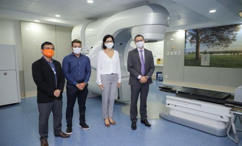 Governo firma contrato com o Hospital São Domingos para a realização de radioterapia e cirurgias especializadas