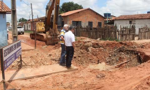 Obras de drenagem profunda são intensificadas para evitar alagamentos em Imperatriz