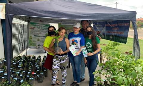 Prefeitura desenvolve ação ambiental no Sebastião Régis