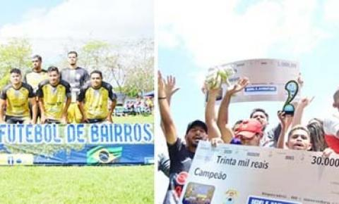 Prefeitura realiza Supercopa Imperatriz de Futebol de Bairros