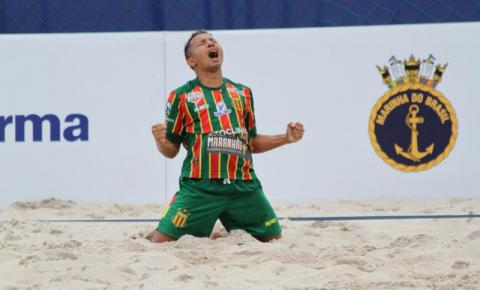 Sampaio bate o Anchieta e avança à final do Brasileiro de Beach Soccer