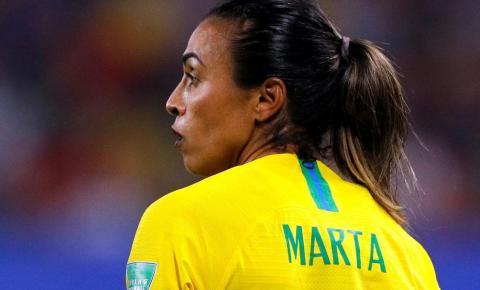 Marta é cortada da seleção feminina após testar positivo para covid