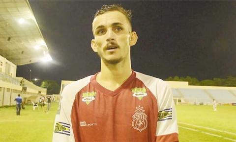 Atacante Gustavo Cebolinha foi o destaque do jogo contra o Vila Nova