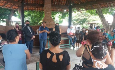 """Reunião discute sobre remanejamentos de """"paneleiros"""" das 4 Bocas para o Panelódromo"""