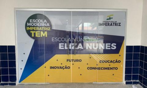 Inauguração da Escola Eliza Nunes ocorre nesta quarta-feira, 25
