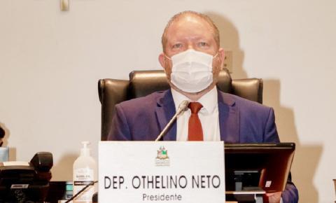 Othelino Neto parabeniza deputados que disputaram as eleições municipais