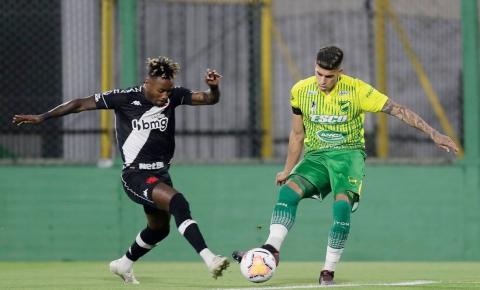 Cano marca, mas Vasco deixa escapar vitória na Sul-Americana