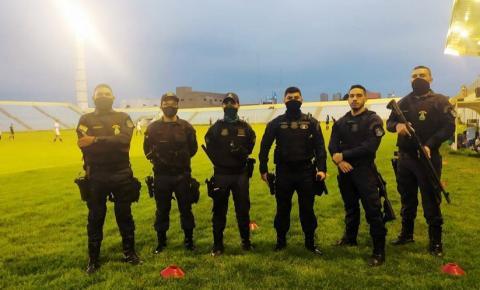 Guarda Municipal atua durante jogo no Frei Epifânio