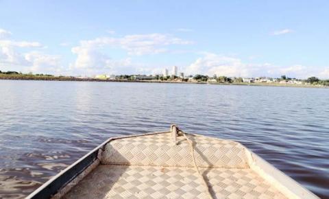 Lago Azul é opção para pesca esportiva durante período da piracema