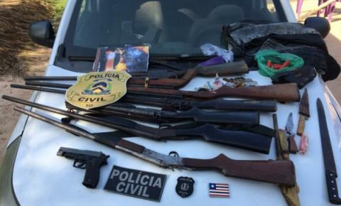 Polícia Civil prende no Tocantins mulher acusada de homicídio em Carolina