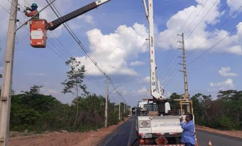 Começa construção do retorno semafórico de acesso ao anel viário na Avenida Pedro Neiva de Santana