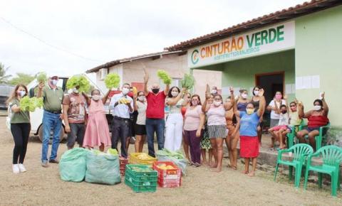 Agricultores familiares do Cinturão Verde comercializam para o Procaf