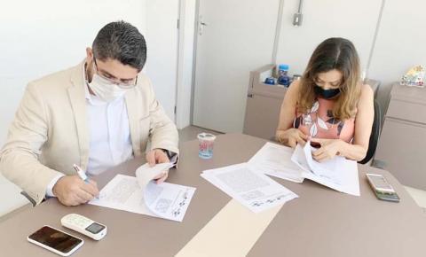 Sagrima e Embrapa Cocais assinam acordo de cooperação técnica com foco na cadeia produtiva do arroz