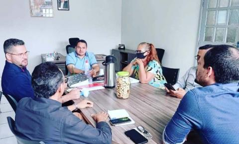 BURITIRANA - Prefeito Tony Brandão reuniu-se com secretariado