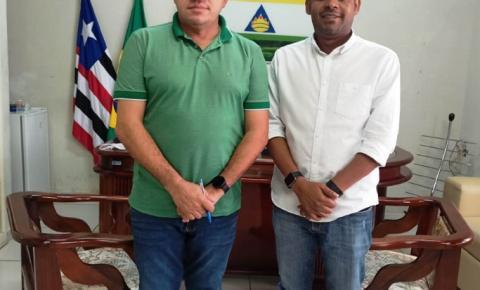 Presidente da Câmara recebe visita do vice-prefeito de Imperatriz