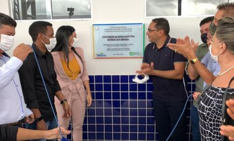 Escola Antonio Leite abre calendário de inaugurações em 2021