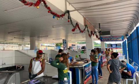 Semmarh realiza ação de educação ambiental na Beira Rio