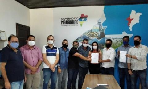 Antônio Pereira anuncia a construção de reservatório de água em Amarante
