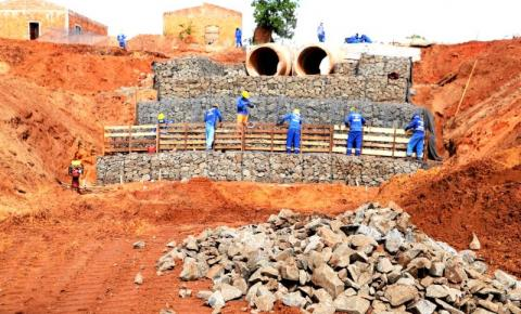 Obras de drenagem no Setor Ana Maria chegam na reta final