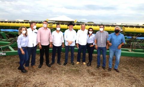 Colheita de grãos é aberta no Tocantins; expectativa é de 6 milhões de toneladas